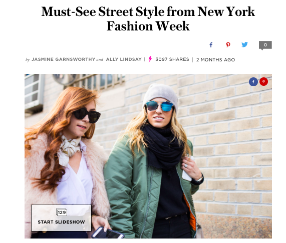 New York Fashion Week best street style 2016