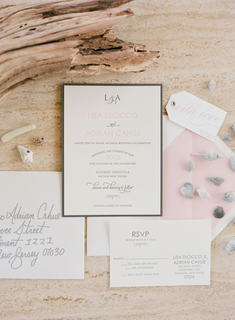 l&a invite wedding