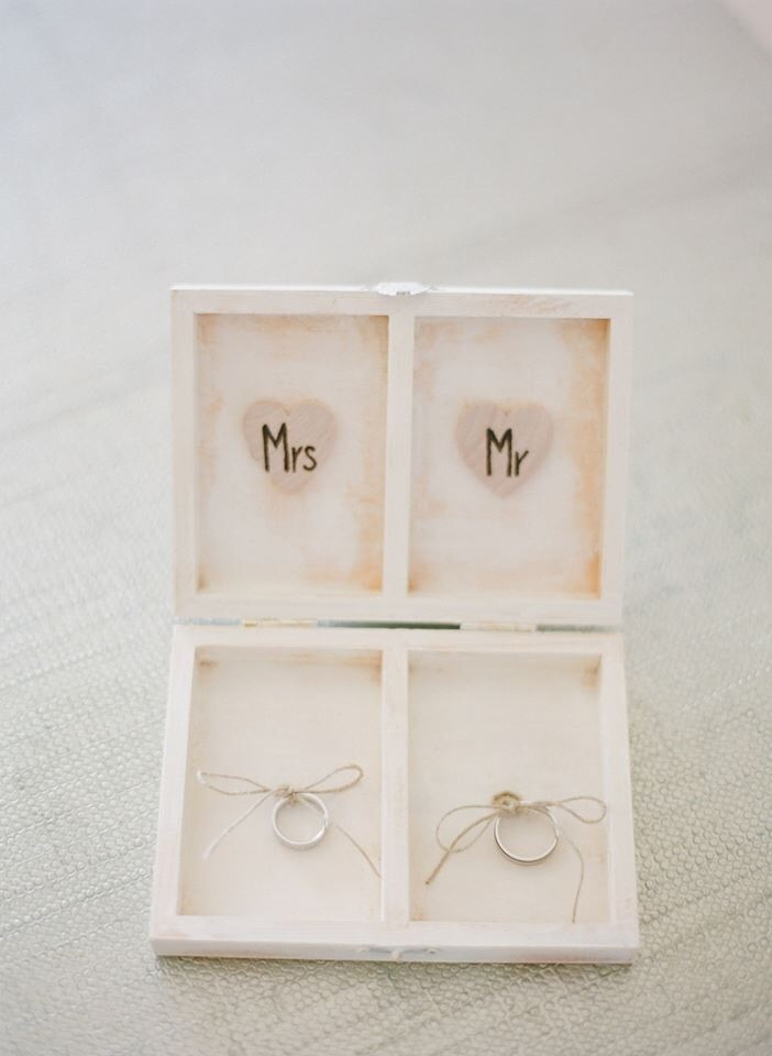 l&awedding ring box