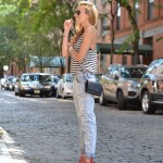 Simplicity- Stripes and Baggy Jeans
