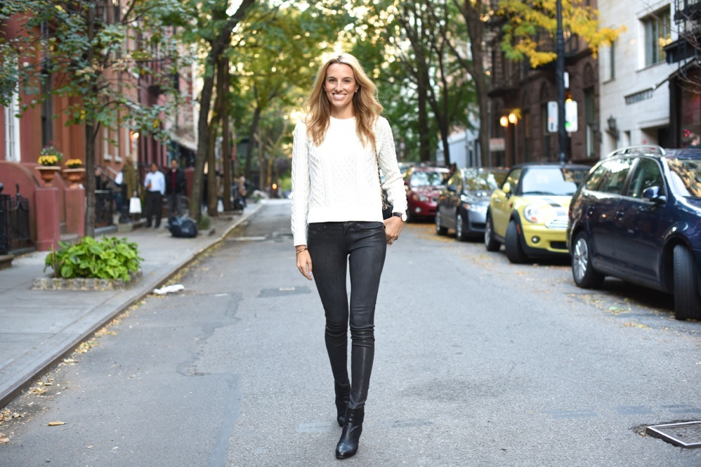 fall fashion, leather pants, shades of grey, fall style , shopbop, NYC fashion blogger