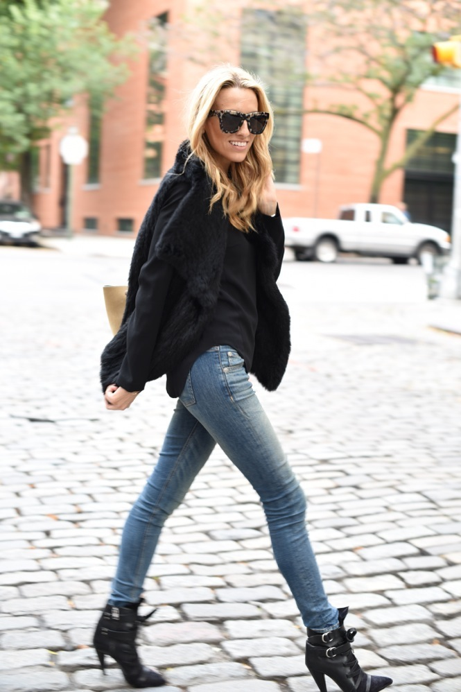 Rag & Bone jean, Isabel Marant Royston boots, valley eyewear, celine trapeze, tiffany & co.