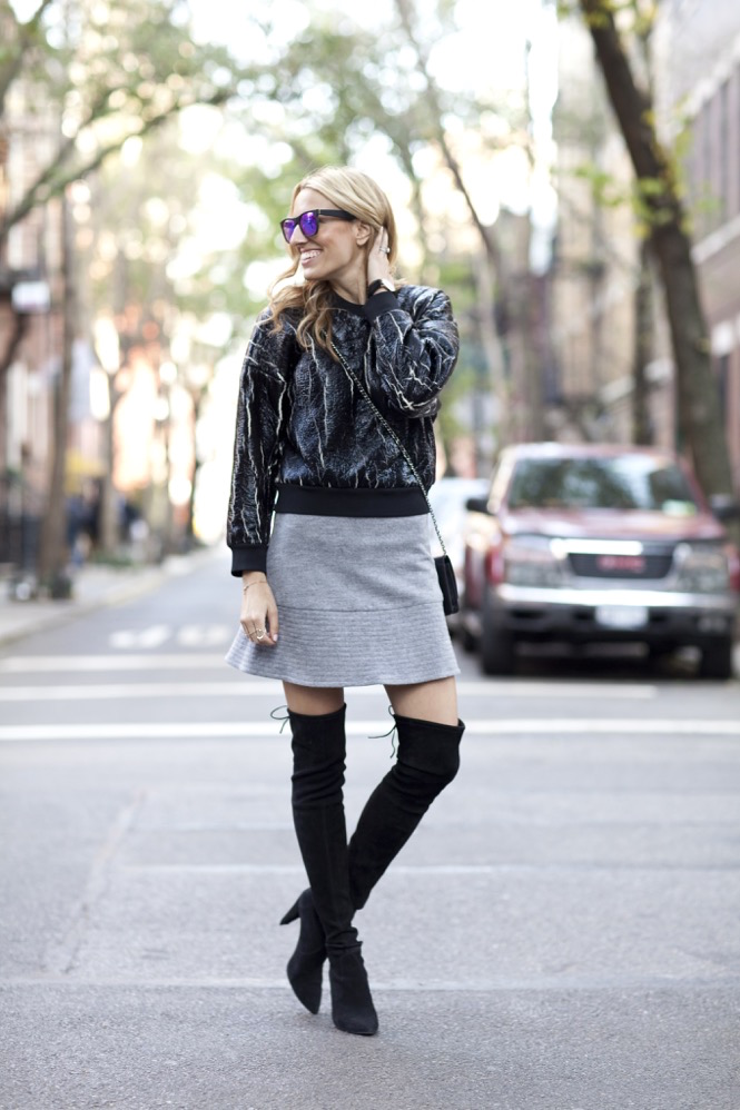 3.1 Phillip Lim, Stuart Weitzman Highstreet Boot, Over-the-knee boots, Holiday, Mirrored Sunglasses