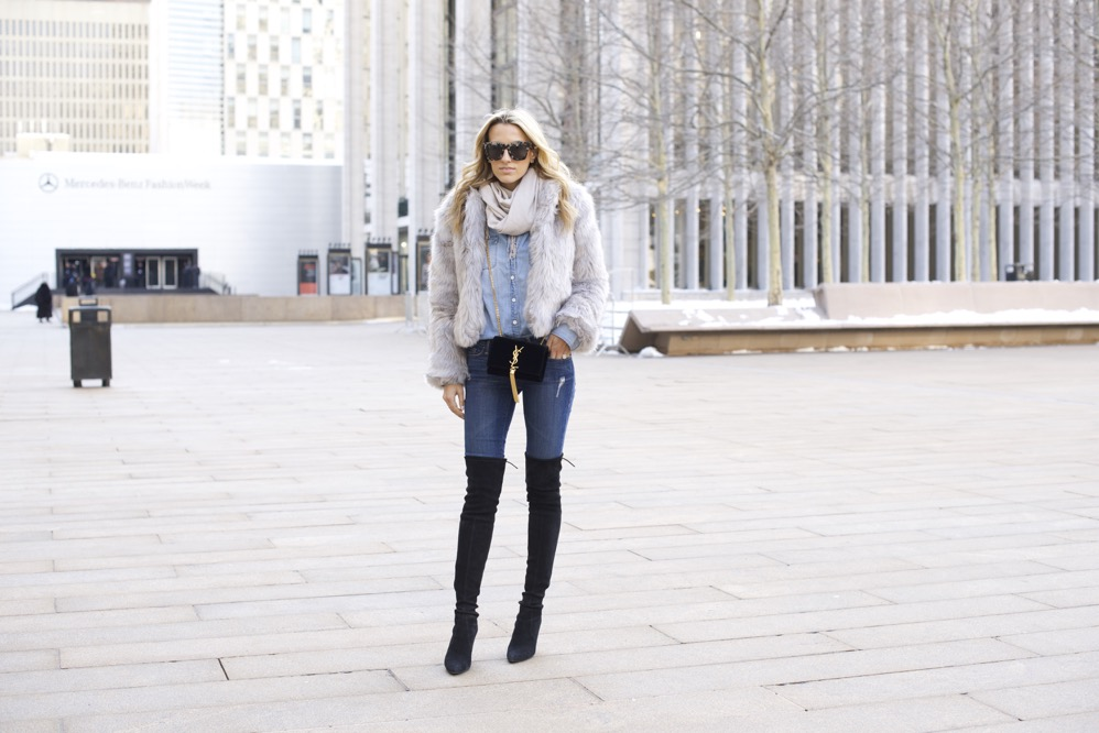 NYFW Day 7- Faux Fur, Denim on Denim - 02