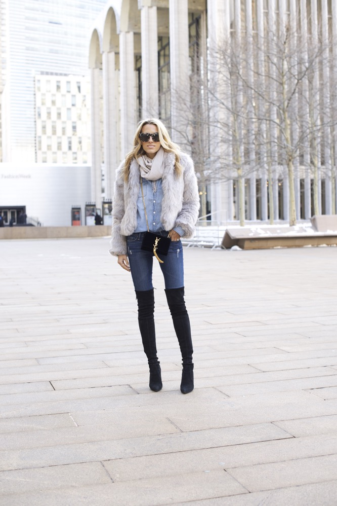 NYFW Day 7- Faux Fur, Denim on Denim - 03