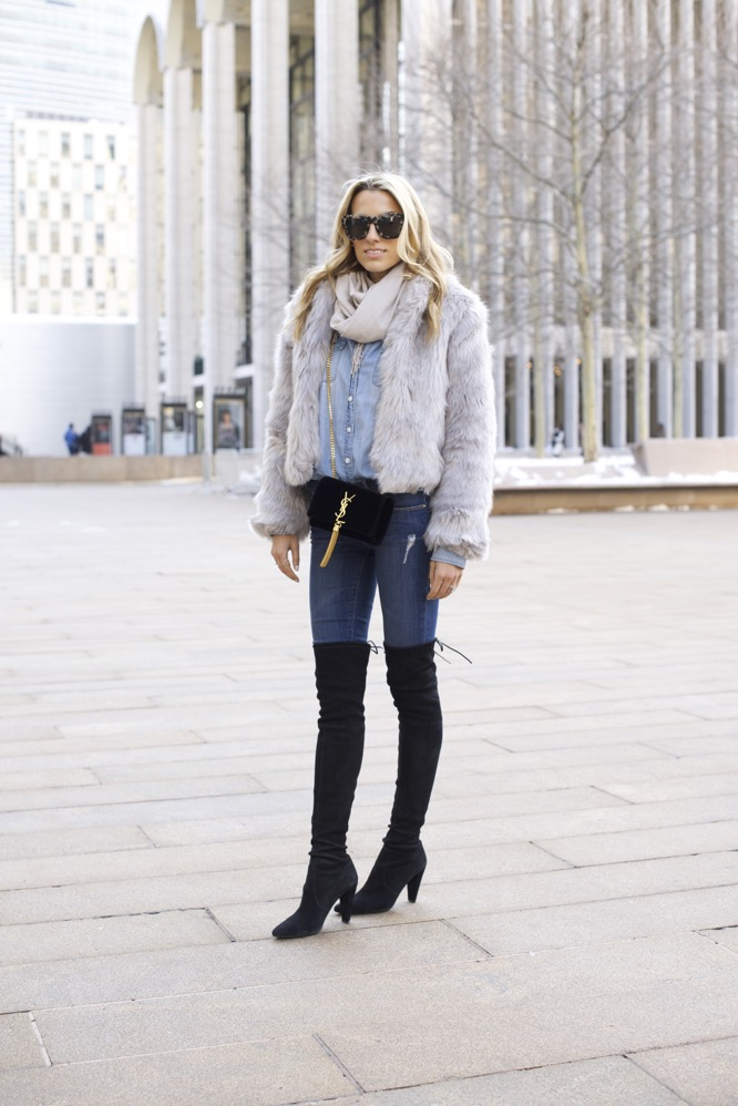 NYFW Day 7- Faux Fur, Denim on Denim - 04