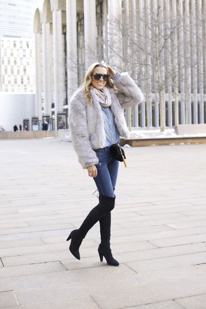 NYFW Day 7- Faux Fur, Denim on Denim - 06