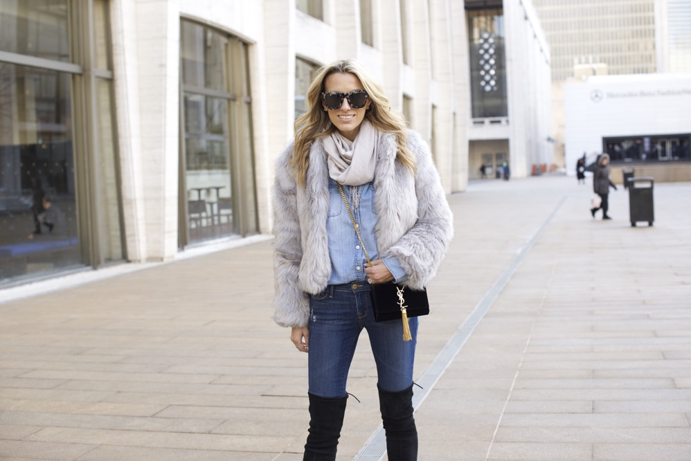 NYFW Day 7- Faux Fur, Denim on Denim - 08