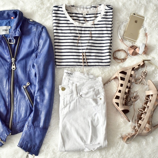 Flat lay, Spring Outfit
