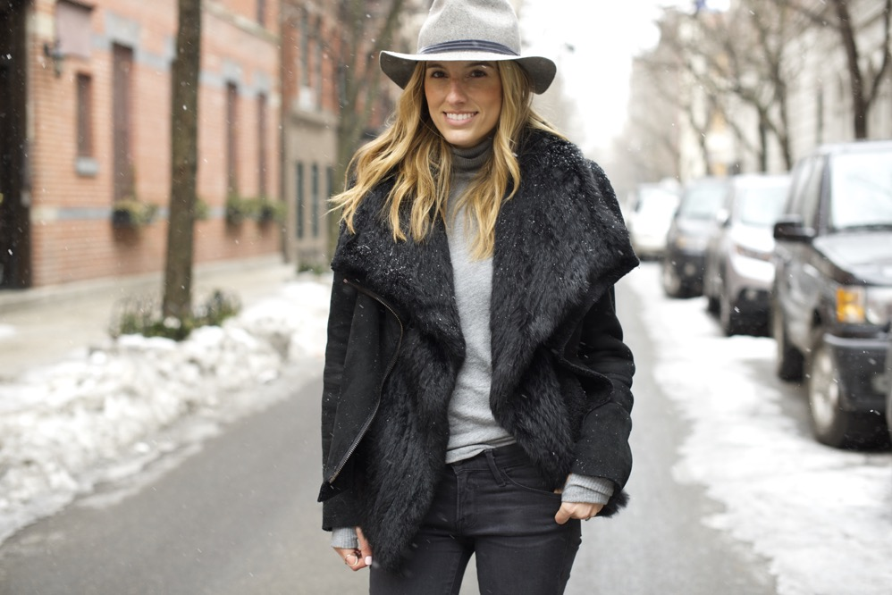 Winter Chic Style- Rag & bone hat, Isabel Marant boots 5