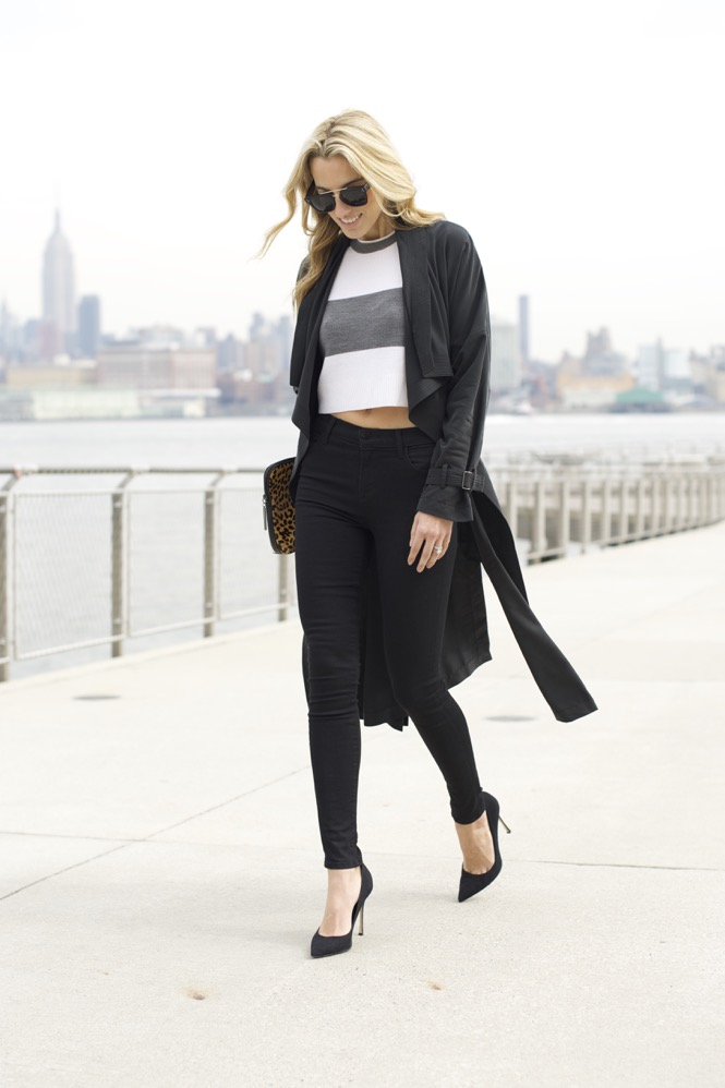 Trench Coat, J Brand Jeans -