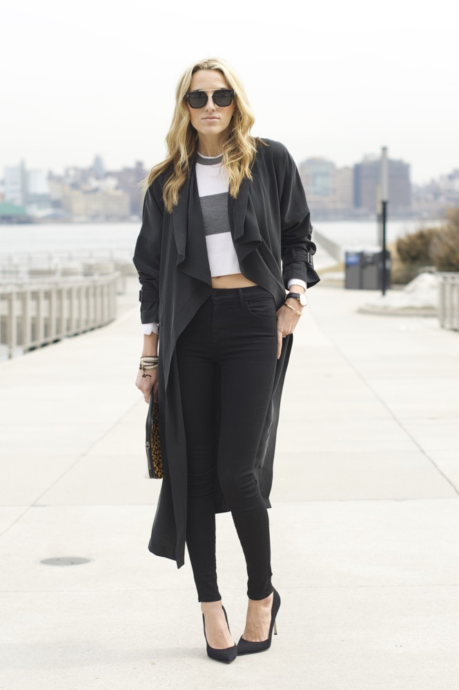 Trench Coat, J Brand Jeans - 11