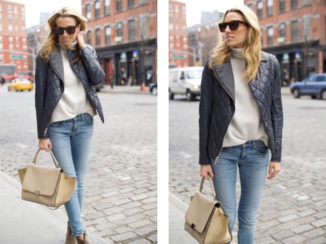 Meatpacking - streetstyle - leather-denim