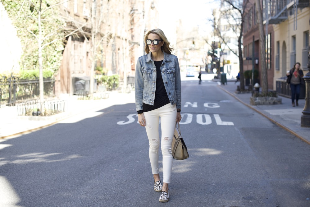 Topshop jeans, J Crew denim jacket - 1 of 13