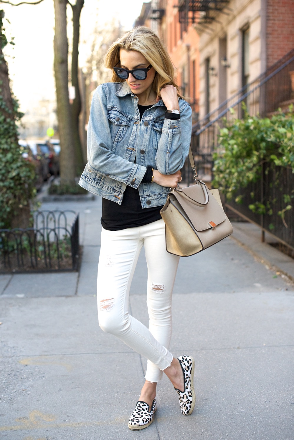 Topshop jeans, J Crew denim jacket - 10 of 13