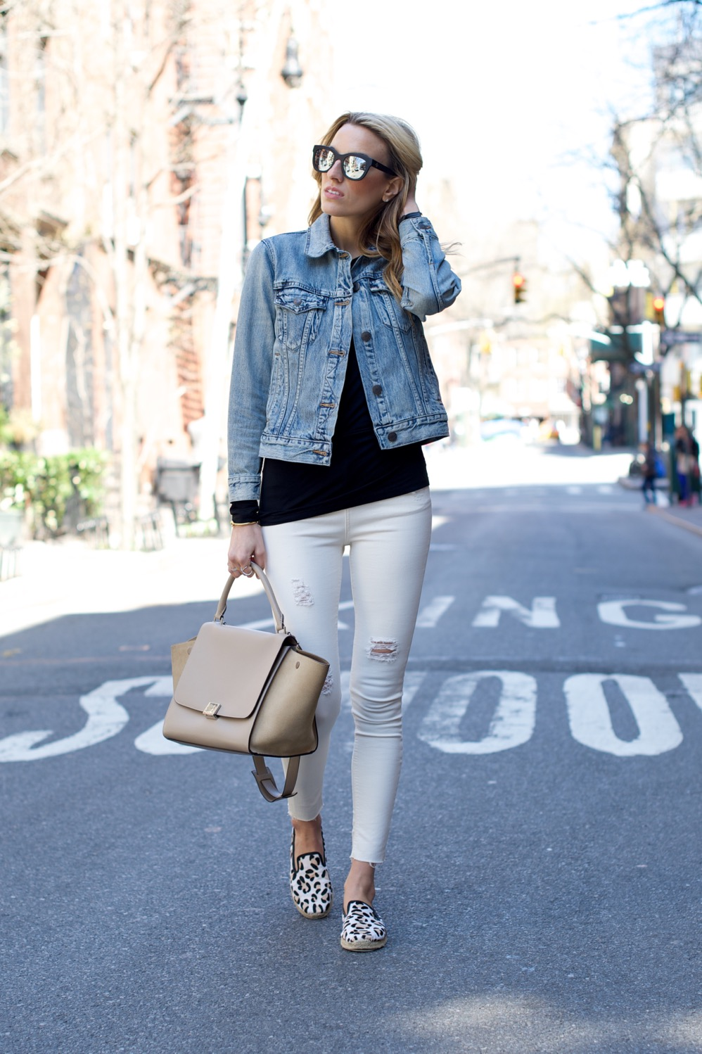 Topshop jeans, J Crew denim jacket - 2 of 13