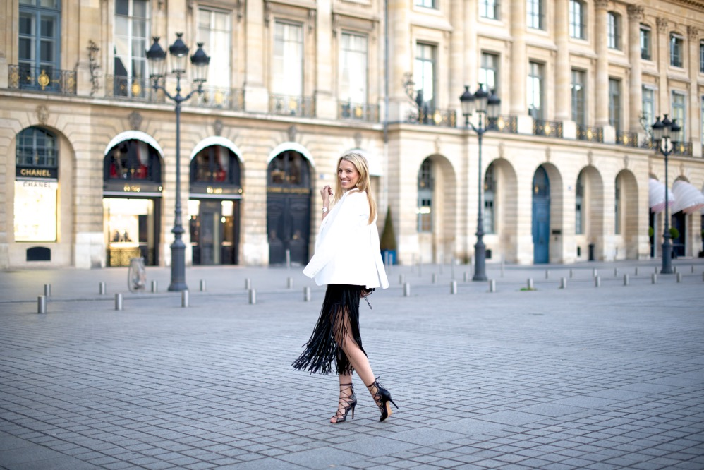 Fringe Skirt in Paris, France