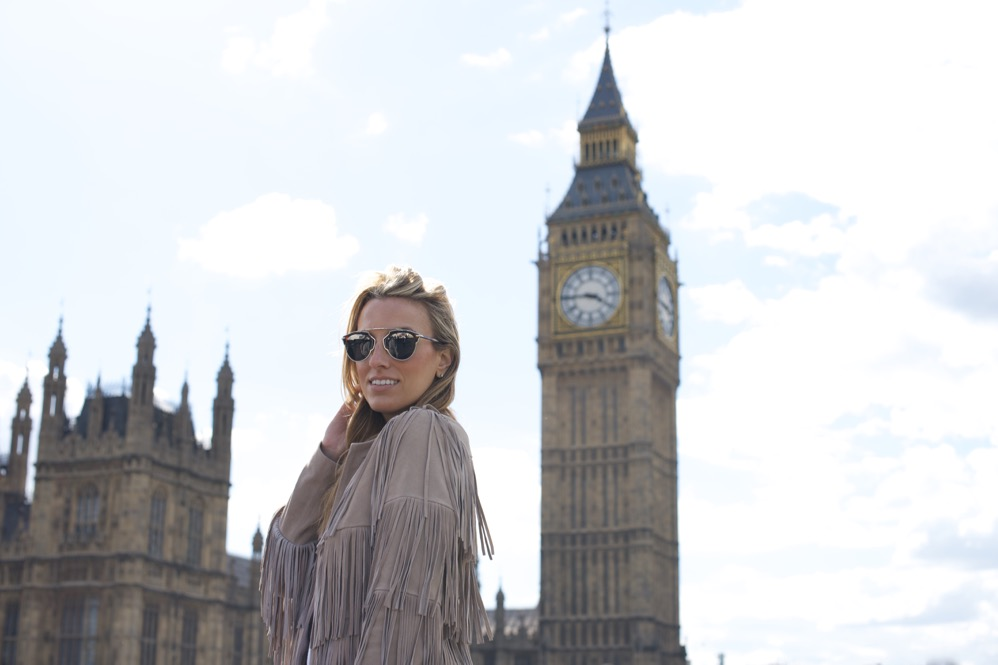 London, Big Ben, Fringe Jacket