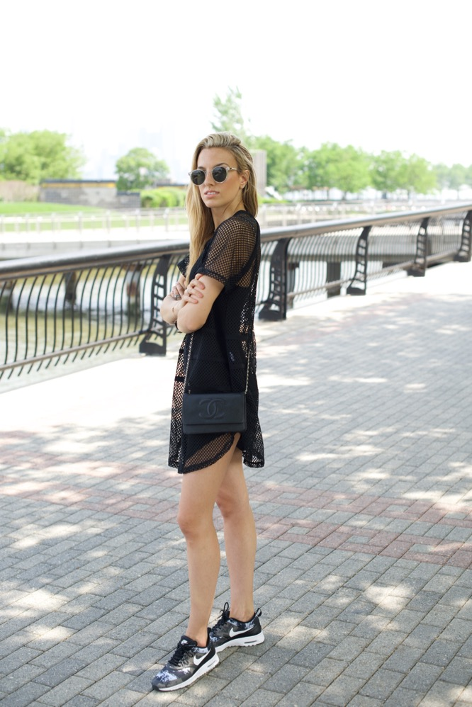 Sporty Chic in LBD