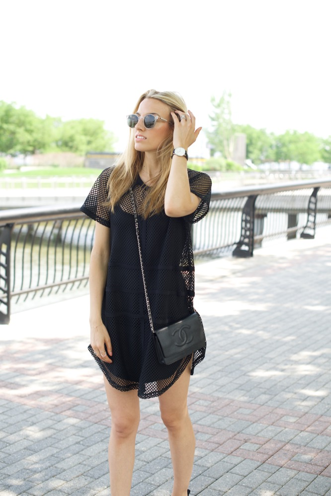 NBD, Revolve, Nike, Chanel, LBD, NYC Street Style