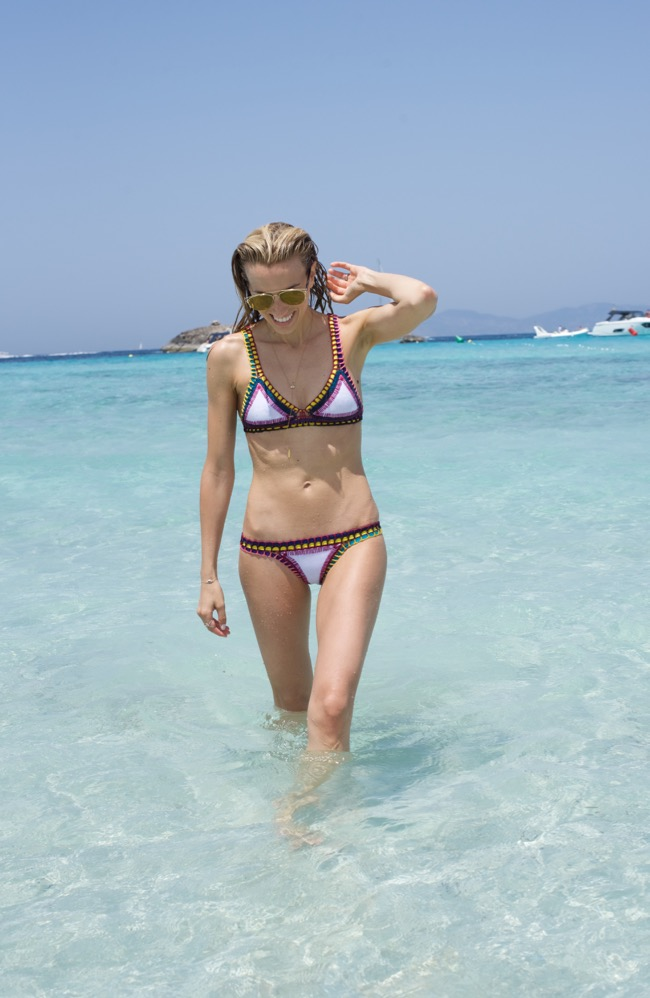 Kiini Bikini in Formentera-Dior technologic sunglasses