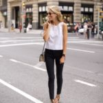 5th Avenue Street Style in High Waisted Denim