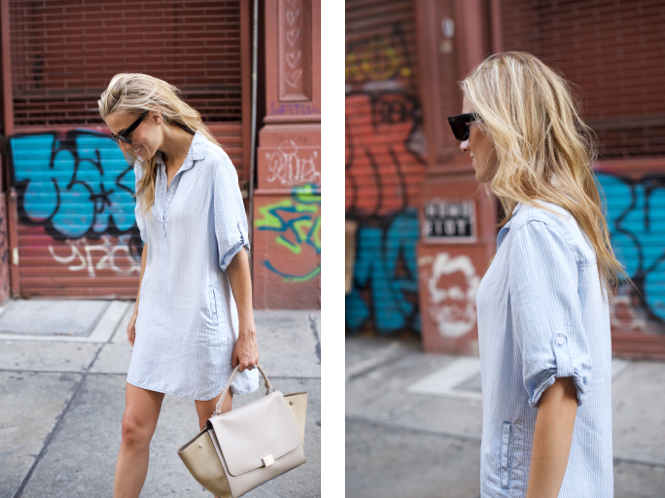 Soho, Shirt Dress, Celine
