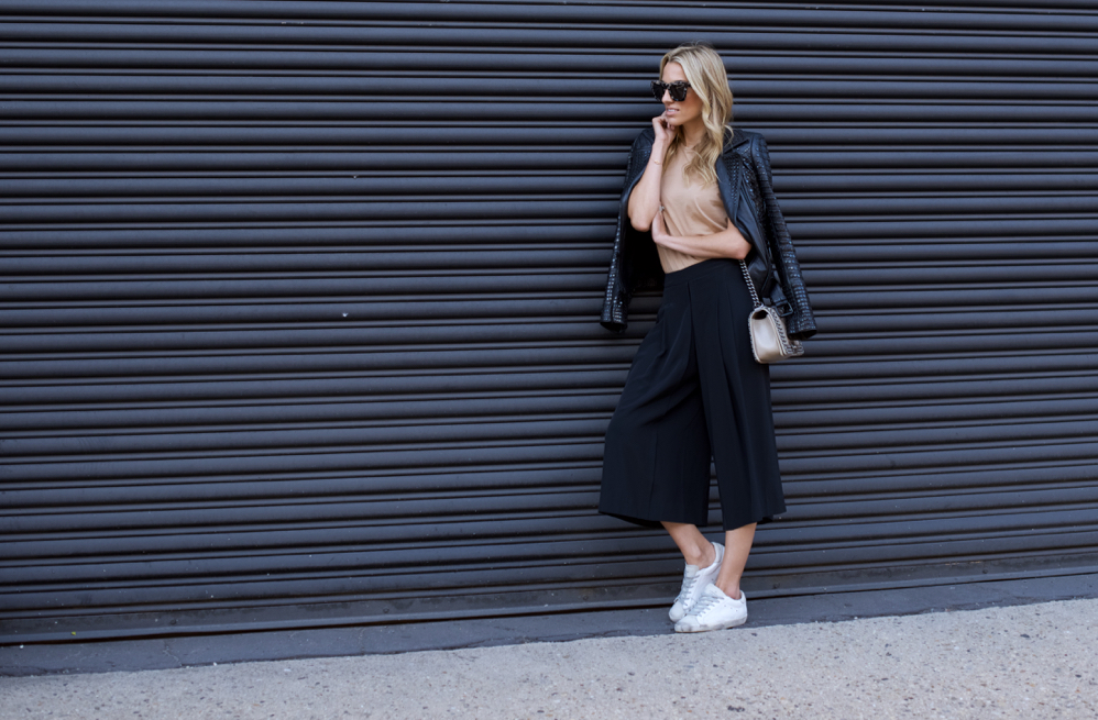 NYFW- Culottes-Street Style-Chanel