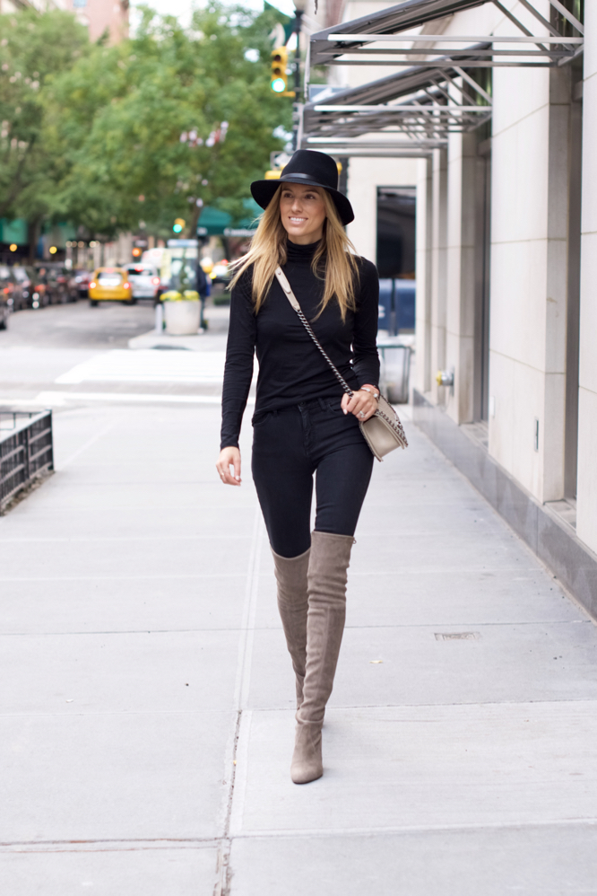 how to wear over the knee high boots
