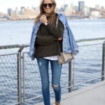 Chunky Knit with Denim on Denim