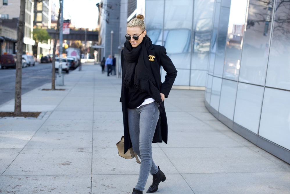 Celine Trapeze, Dior So Real, J Brand Jeans, Acne Boots
