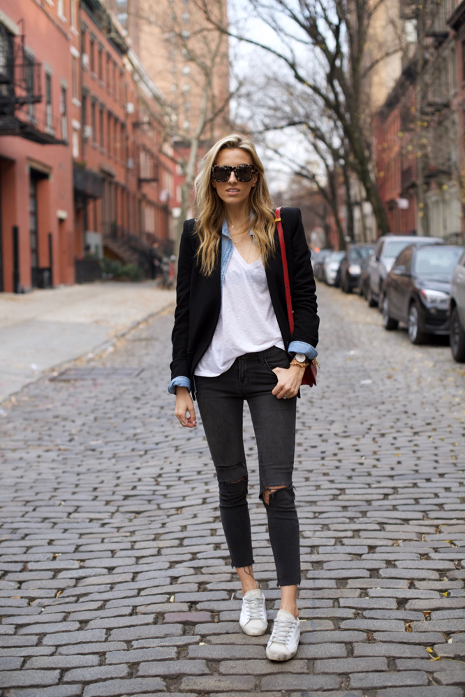 NYC Street Style, Golden Goose Sneakers