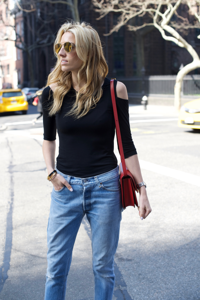 Cold Shoulder-Levis-Chanel Slings