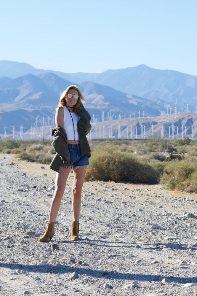 Festival Style, Coachella, Palm Springs, Outfit, Levis