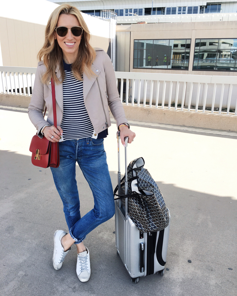 Dallas-Texas-RewardStyle-RStheCon-suitcase-Delsey Luggage-Airport Outfit