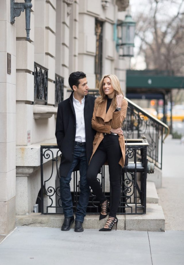 Vince Camuto Date NIght- NYC -Couple Fashion- Style