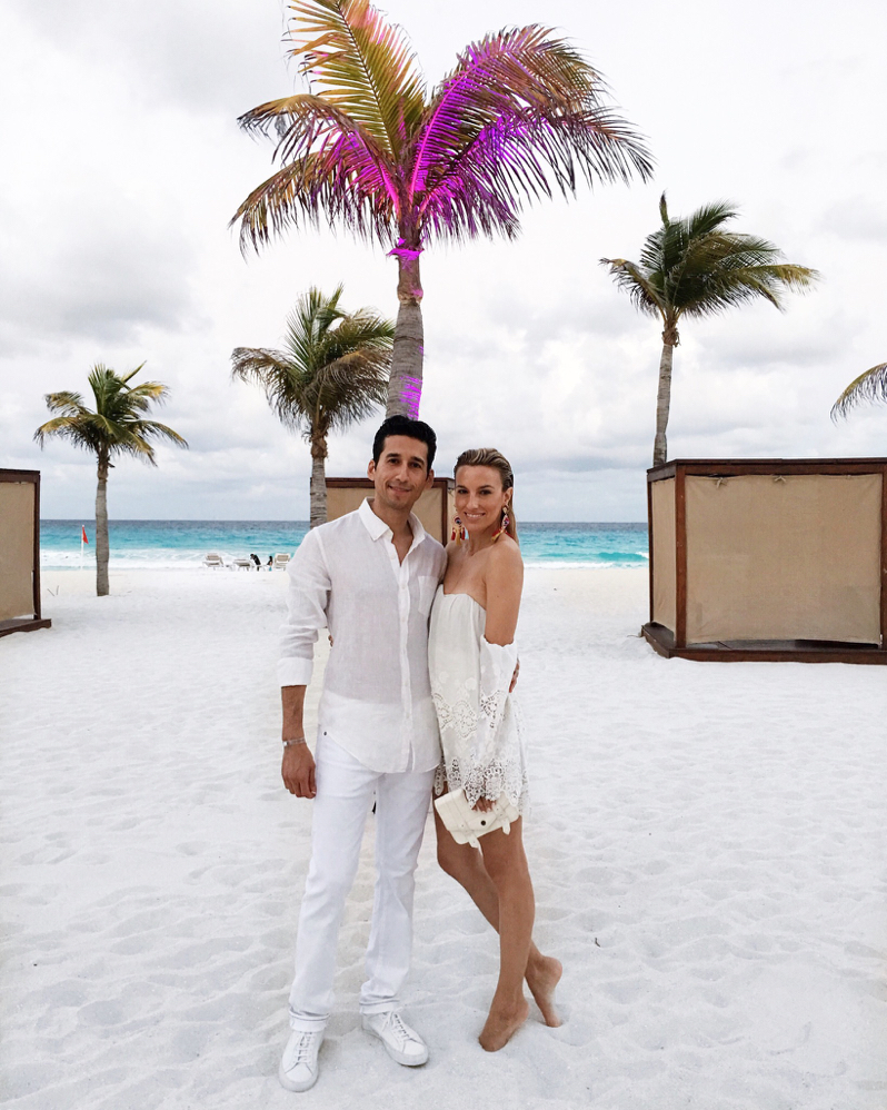 Cancun Mexico, Travel, Beach, All White, Couple Style