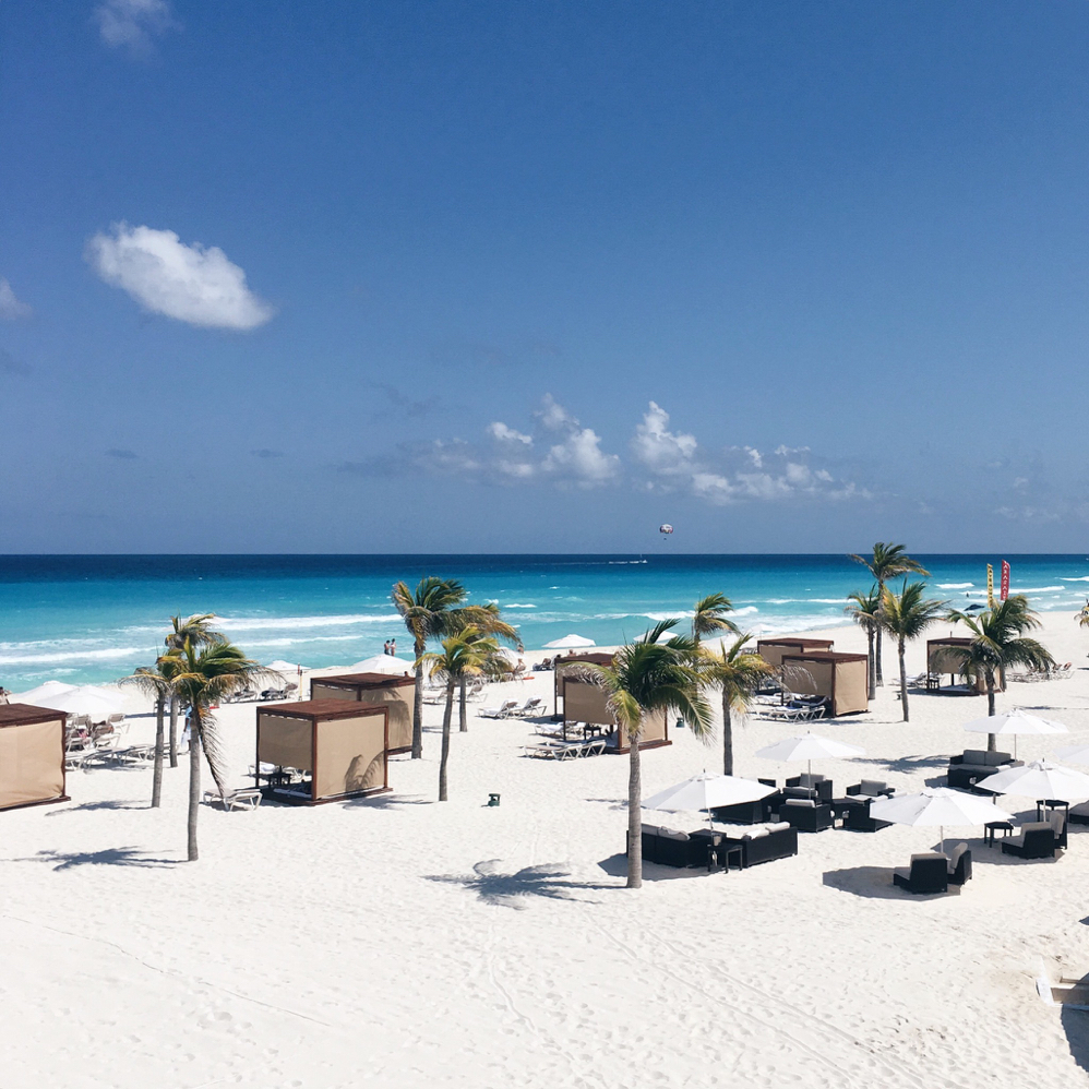Le Blanc Spa, Cancun, Mexico, Beach, Travel