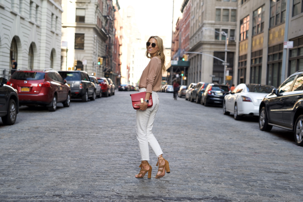 Fall, Fall Transition, What to Wear on a Date, Red Celine Box Bag, Ahlem Concorde Sunglasses, Aquazzura Shoes