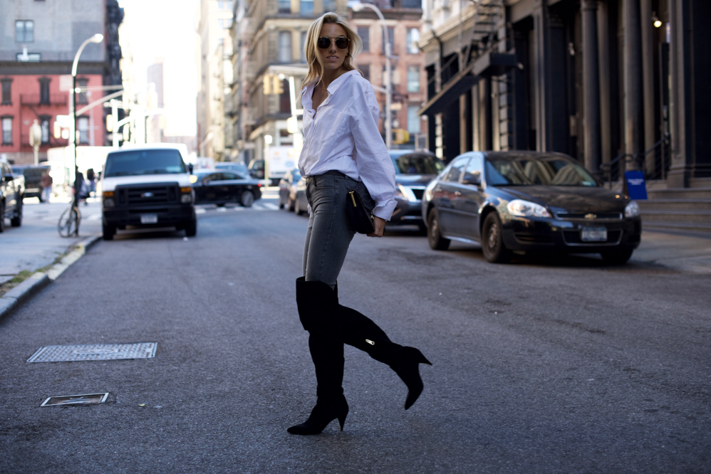 Louise et cie, OTK boots, Fall Fashion, Over The Knee boots