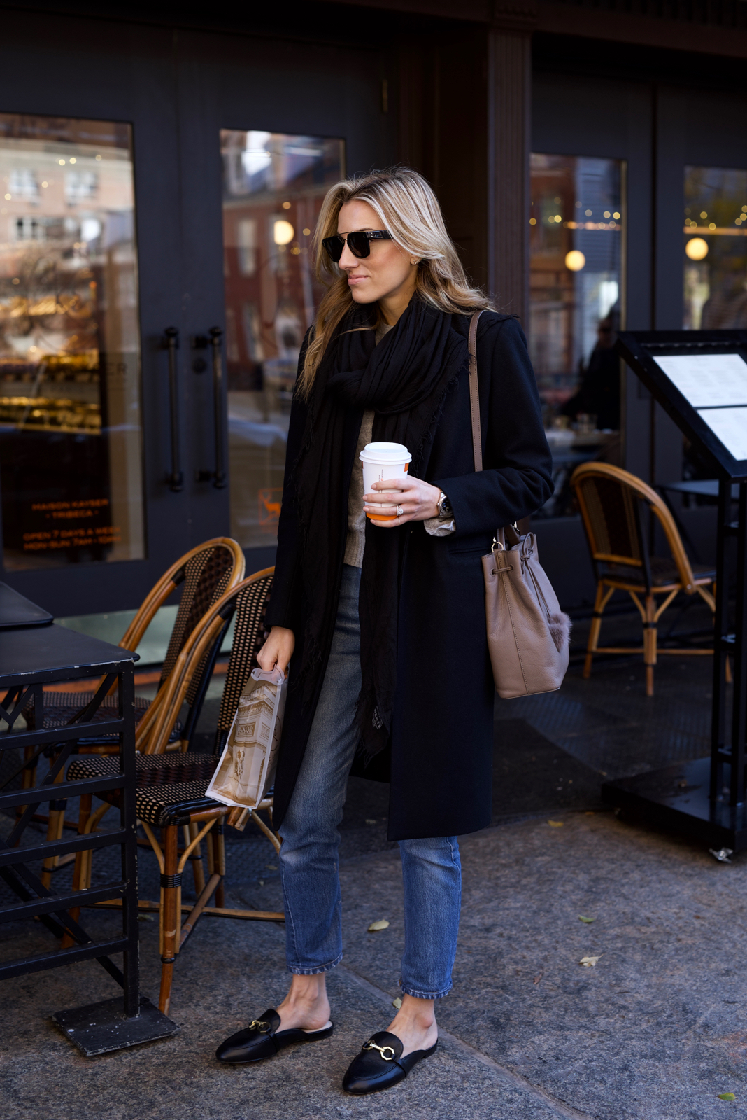 Louise et Cie, Slides, Celine sunglasses, Holiday Outfit
