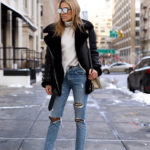 How to Wear Ripped Jeans with Fishnets