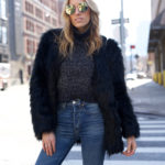 The Best High Waisted Jeans & Cropped Sweater