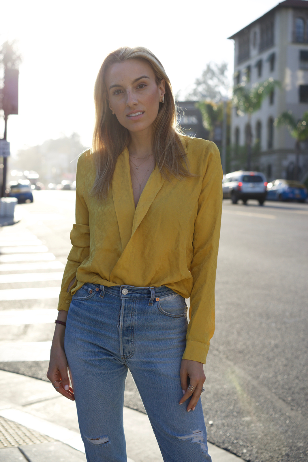 California, Travel, Sunset, Yellow, Spring Trends, Reformation,Golden hour, Chanel Shoes
