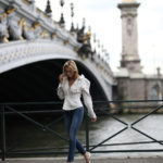 Jacquemus Top & Grlfrnd Denim in Paris