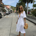 The Perfect White Summer Dress in St. Barths