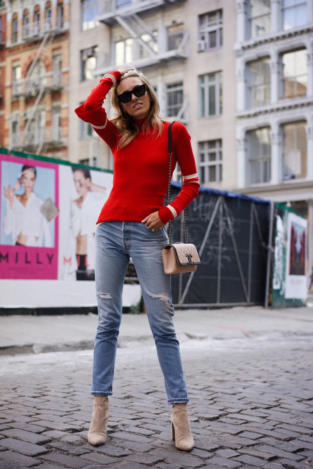 How to wear fall's it color, red fall must-haves