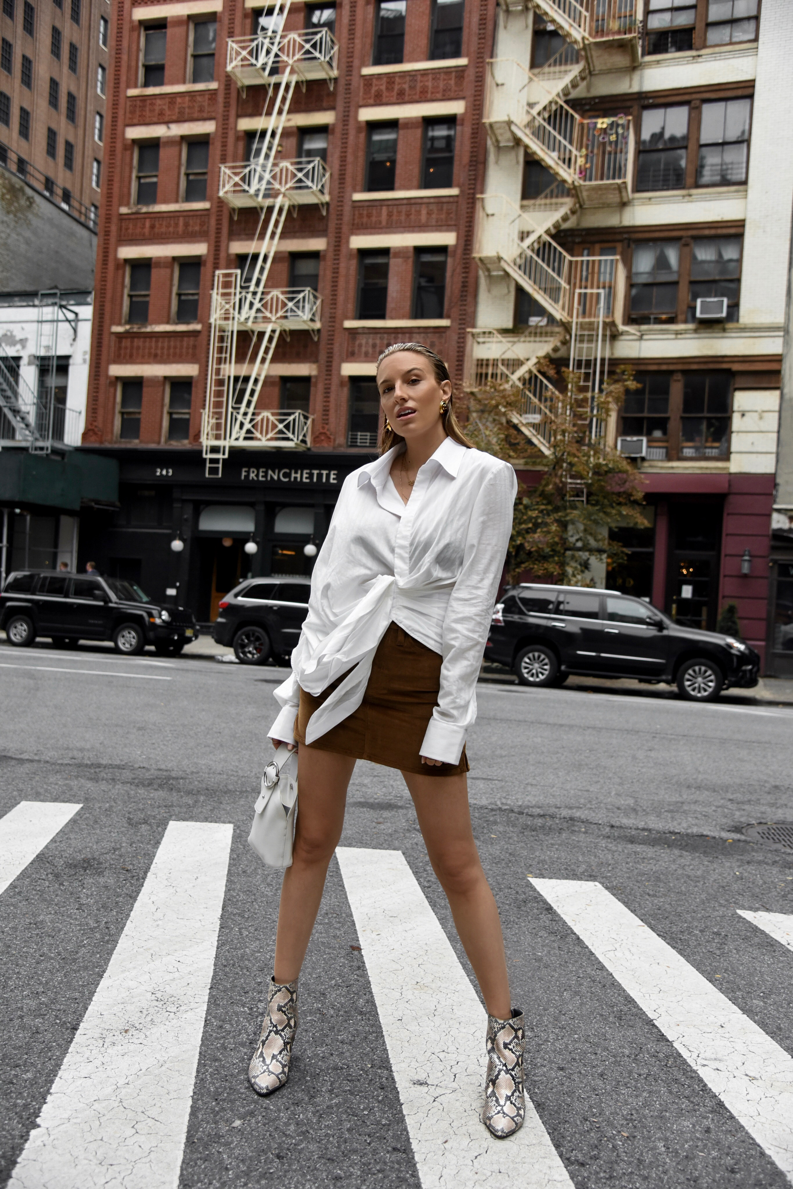 Fall Trends in Jacquemus & Snake Skin Boots